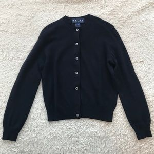 Ralph Lauren Wool/ Angora Blend Cardigan Sweater